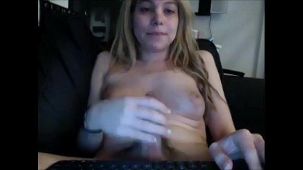 Amateur Shemale Chatting & Masturbating