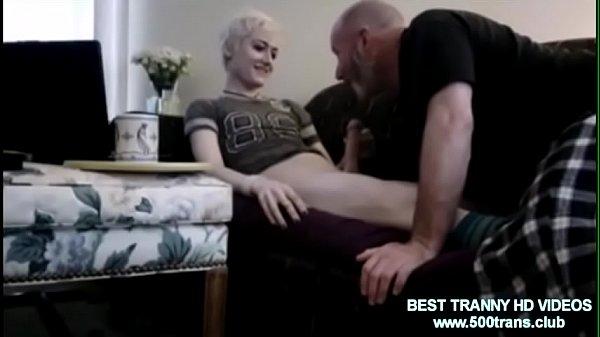 Blonde Sissy slut get dick sucked www.500trans.club