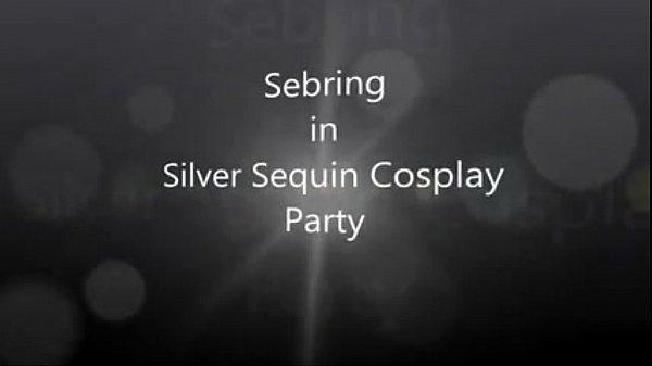 Sebring Sequin Cosplay Night Fun to Cum Shemale Porn TRANNYCAMS69.COM
