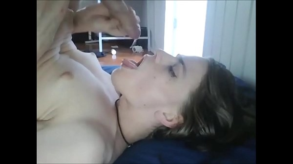 Teen Trap Swallows her Own Load of Cum